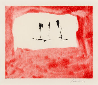 Robert Motherwell, 'Untitled (Phoenician Red)', 1976