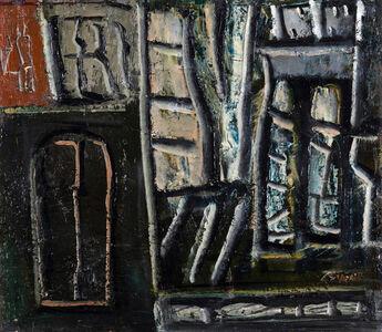 Mario Sironi, 'Composizione', ca. 1950-52