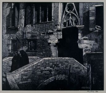 Sydney Lee, 'Ponte Paradiso, Venice', 1927