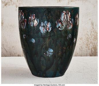 Auguste Delaherche, 'Floral Vase', circa 1890