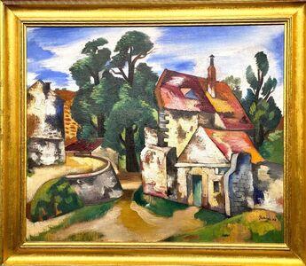 Jan Matulka, 'Untitled (European Landscape)', 1922