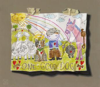 Natalie Featherston, 'Young Artist Shows Promise. One Good Dog ', 2018