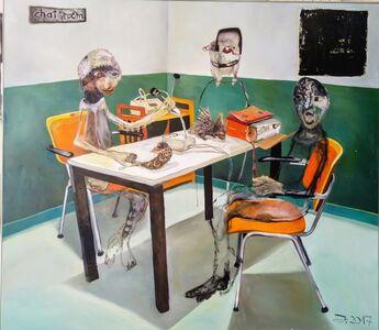 Juliane Hundertmark, 'Chat Room', 2017