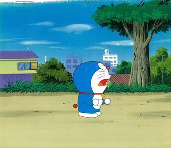 Doraemon Series by SHIN-EI Animation, 'Doraemon - Anime Production Cel ', 1980s-1990s