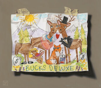 Natalie Featherston, 'Young Artist Shows Promise, Bucks Deluxe ', 2018