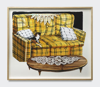 Nikki Maloof, 'The Yellow Couch', 2020