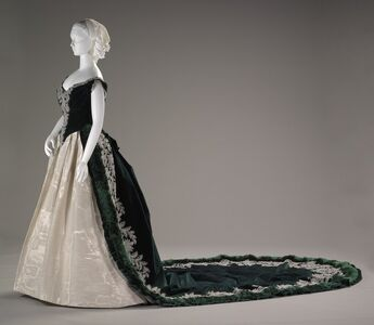 Charles Frederick Worth, 'Imperial Russian court dress', ca. 1888