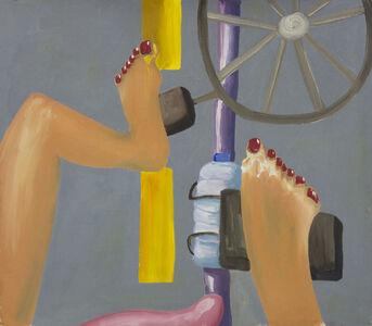 Amber Boardman, 'Pedicure Bike Commute', 2015