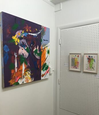 """The Revolution Will Be Painted: Deux"""", installation view"""
