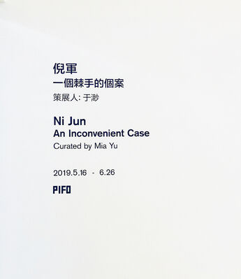 Ni Jun 倪军, installation view