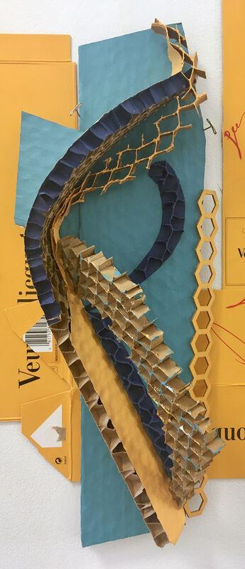 Elisabeth Jacobsen, 'Replay', 2021, Sculpture, Cardboard, honeycomb, & paint, Carter Burden Gallery