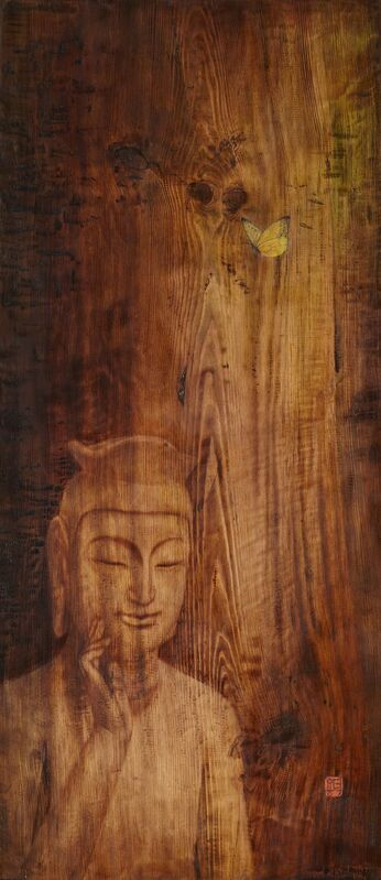 Kim Duck Yong, 'JieumI', 2014, Mixed Media, Mixed media on wood, Artflow