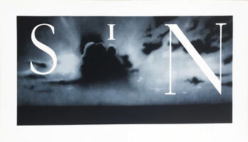 Ed Ruscha, 'Sin - Without', 2002