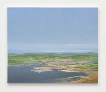 Michael van Ofen, 'ohne Titel (Küstenlandschaft)', 1990
