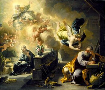 Luca Giordano, 'The Dream of St. Joseph', about 1700