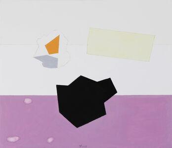 Jürgen Partenheimer, 'Seperate Spheres I, 100 Poets #77, Janet Frame', 2019