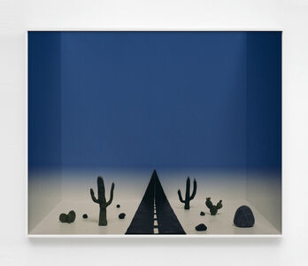 João Maria Gusmão & Pedro Paiva, 'Untitled (desert and road)', 2017