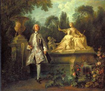 Nicolas Lancret, 'Portrait of the Actor Grandval', ca. 1742