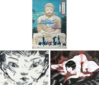 Tenmyouya Hisashi, 'Nine Kamakura Samurai, Mimio Odyssey, Dancer in the dark (3 works)'