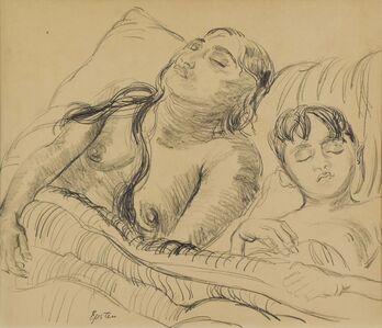 Jacob Epstein, 'Sunita and her son', ca. 1920