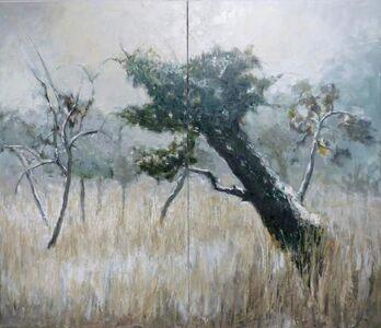 Albert Hadjiganev, 'Abandonned orchard - dyptique'