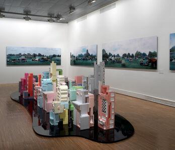 Tiffany Chung, 'D-City: Where Sidewalk Cafes Meet the Stars', 2009-2010
