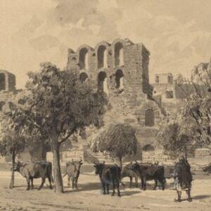 Themistocles von Eckenbrecher, 'Theater of Herodes Atticus', 1890