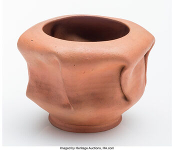 George E. Ohr, 'Bowl'