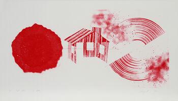James Rosenquist, 'Hot Lake (2nd State)', 1978