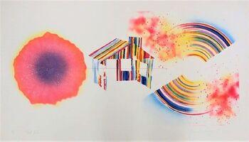 James Rosenquist, 'Hot Lake (State 1)', 1978