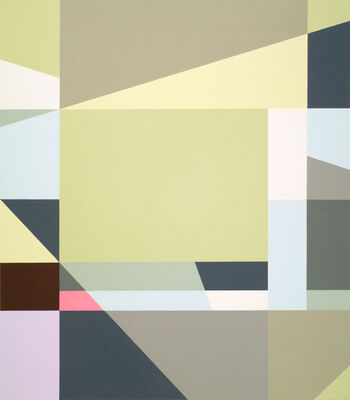 Judith Seligson  -  The Nature of Geometry, installation view