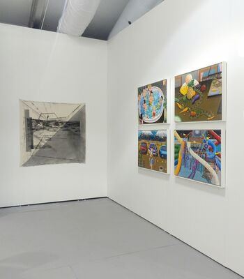 Upfor at UNTITLED 2015, installation view