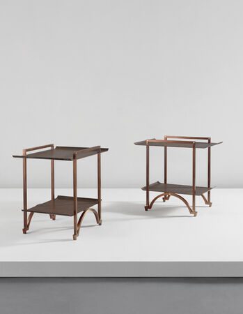 André dubreuil · pair of tables circa 2009phillips