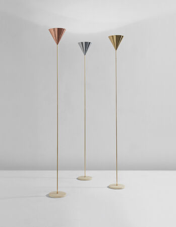 Set of three imbuto floor lamps
