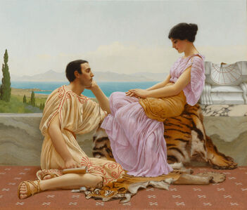 John William Godward, 'Youth and Time', 1901