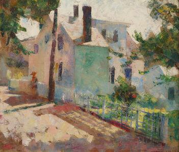 Henry Hensche, 'Provincetown Street Scene', 20th Century