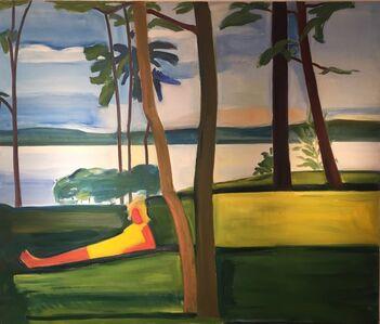 Louisa Matthíasdóttir, 'Figure in a Landscape', ca. 1976