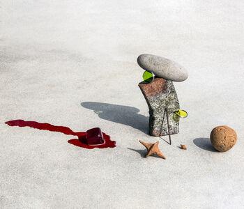 Ilán Rabchinskey, 'Clay, stone, metal, chromatic filters, gelatin.', 2017