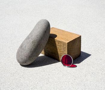 Ilán Rabchinskey, 'Stone, wood, chromatic filter #1', 2017