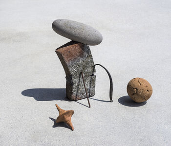 Ilán Rabchinskey, ' Clay, stone, metal, wood', 2017