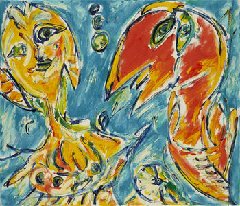 Carl-Henning Pedersen, 'Sommerdialog', 1987