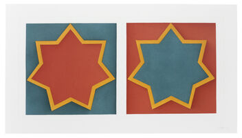 Sol LeWitt, 'Double Stars', 1983