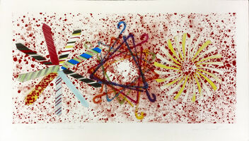 James Rosenquist, 'MORE POINTS ON A BACHELOR'S TIE', 1977