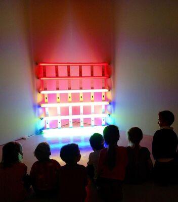 Dan Flavin, installation view