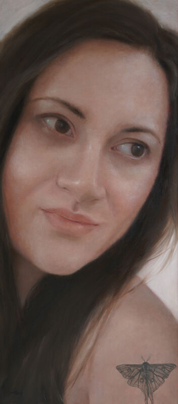 Kristen Santucci, 'Looking Back', 2021, Painting, Oil on canvas, 33 Contemporary