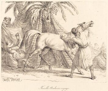 Carle Vernet, 'Famille Arabe en voyage', ca. 1818