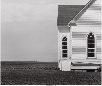 David Plowden, 'Church, Saline County, MO', 1974