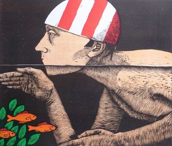 Frans Wesselman, 'Swimmer '