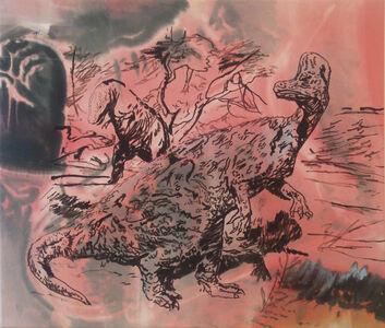 Hugo Canoilas, 'Black Fist (Zdnek vs Burian)', 2018