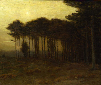 Charles Warren Eaton, 'The Strip of Pines', 1908